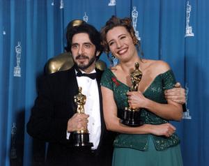 """Academy Awards: 65th Annual""Al Pacino, Emma Thompson 1993 © 1993 AMPAS/LPI - Image 9677_0016"