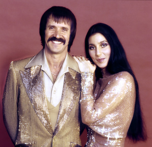 Cher with husband Sonny Bonocirca 1971 © 1978 John Engstead - Image 967_21