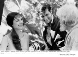"""Green Mansions""Audrey Hepburn, Anthony Perkins, Lee J. Cobb1958 / MGM(c) 1978 Bob Willoughby - Image 9687_0125"