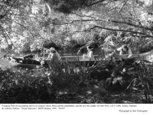 """Green Mansions""Lee J. Cobb, Audrey Hepburn, Audrey Hepburn1958 / MGM(c) 1978 Bob Willoughby - Image 9687_0127"