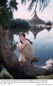 """Green Mansions""Audrey Hepburn1958 / MGM(c) 1978 Bob Willoughby - Image 9687_0128"