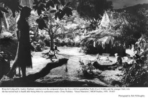 """Green Mansions""Audrey Hepburn, Anthony Perkins, Lee J. Cobb1958 / MGM(c) 1978 Bob Willoughby - Image 9687_0152"