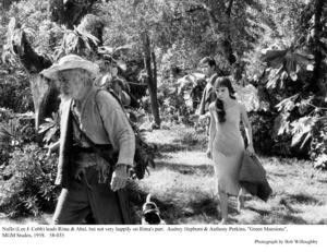 """Green Mansions""Lee J. Cobb, Audrey Hepburn, Anthony Perkins1958 / MGM(c) 1978 Bob Willoughby - Image 9687_0159"