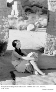 """Green Mansions""Audrey Hepburn1958 / MGM(c) 1978 Bob Willoughby - Image 9687_0171"