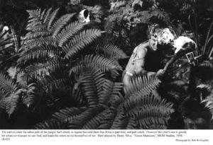 """Green Mansions""Henry Silva1958 / MGM(c) 1978 Bob Willoughby - Image 9687_0172"