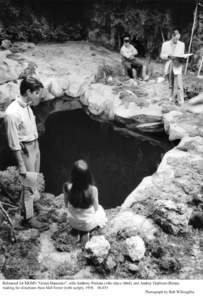 """Green Mansions""Anthony Perkins, Audrey Hepburn, Dir. Mel Ferrer1958 / MGM © 1978 Bob Willoughby - Image 9687_0189"