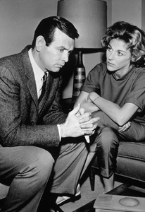 """The Fugitive""David Janssen, Nan Martin1964 - Image 9699_0001"