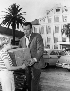 """The Fugitive""David Janssen, Jimmy Stiles1965 - Image 9699_0007"