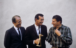 """""""The Fugitive""""Barry Morse, David Janssen, Bill Raisch1967  © 1978 Gunther - Image 9699_0028"""