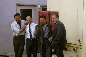 """The Fugitive""David Janssen, Bill Raisch, Barry Morse1965© 1978 Gene Trindl - Image 9699_0030"