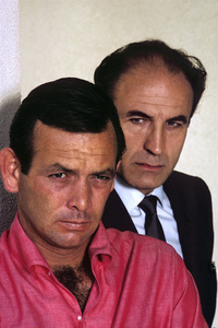 """The Fugitive""David Janssen, Barry Morse1964© 1978 Gene Trindl - Image 9699_0032"