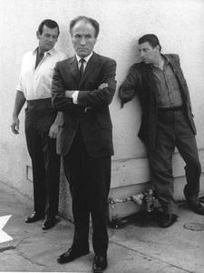 """The Fugitive""David Janssen, Barry Morse, Bill Raisch1964 © 1978 Gene Trindl - Image 9699_0034"