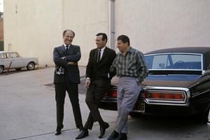 """""""The Fugitive""""Barry Morse, David Janssen, Bill Raisch1964© 1978 Gunther - Image 9699_0035"""