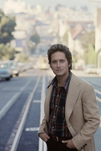 "Michael Douglas in San Francisco during the making of ""The Streets of San Francisco""1973 © 1978 Gunther - Image 9724_0015"