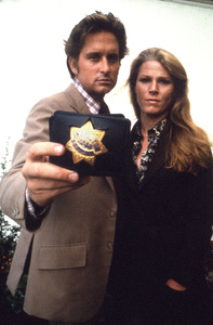 """The Streets of San Francisco""Michael Douglas & Mariette HartleyCirca 1972**I.V. - Image 9724_0080"