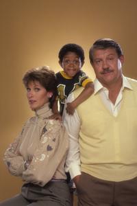 """Webster""Susan Clark, Emmanuel Lewis, Alex Karras1983© 1983 Mario Casilli - Image 9729_0006"