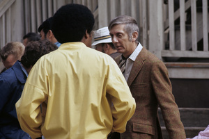 """The Mod Squad""Clarence Williams III, Aaron Spelling1969 © 1978 Gene Trindl - Image 9731_0056"
