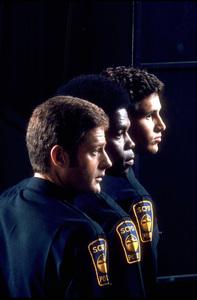 """Rookies, The""Sam Melville, Georg Sanford Brown, Michael Ontkean1972 ABC © 1978 Gene TrindlMPTV - Image 9734_0005"