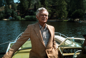 """Barnaby Jones""Buddy Ebsen1974 CBSPhoto by Marv NewtonMPTV - Image 9736_0002"