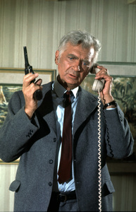 """Barnaby Jones""Buddy Ebsen1974 CBS / MPTVPhoto by Marv Newton - Image 9736_0019"
