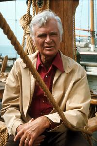 """Barnaby Jones""Buddy Ebsen1974 CBSPhoto by Marv NewtonMPTV - Image 9736_0039"