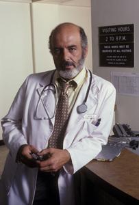 """Trapper John M.D."" Pernell Roberts 1979 © 1979 Ken Whitmore - Image 9738_0016"