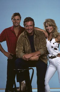 """The Fall Guy""Douglas Barr, Lee Majors, Heather Thomas1985© 1985 Gene Trindl - Image 9739_0011"