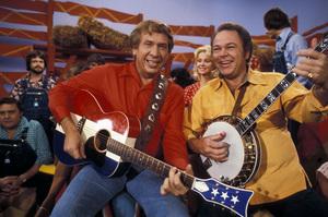 """Hee Haw""Buck Owens, Roy Clark1980 © 1980 Marv Newton - Image 9742_0002"