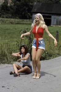 """Hee Haw""Misty Rowe, Barbi Benton circa 1973 © 1978 Marv Newton - Image 9742_0036"