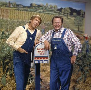 """Hee Haw""Roy Clark, Buck Owens1980 © 1980 Marv Newton - Image 9742_0044"