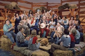 """Hee Haw""Buck Owens, Roy Clark, Barbi Benton, Junior Samples1980© 1980 Marv Newton - Image 9742_0053"