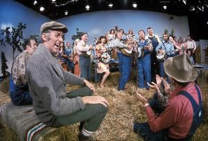 """Hee Haw""Buck Owens, Roy Clarkcirca 1973 © 1978 Marv Newton - Image 9742_0065"