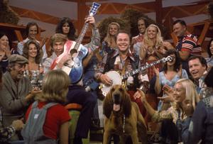 """Hee Haw""Buck Owens, Roy Clarkcirca 1973 © 1978 Marv Newton - Image 9742_0066"