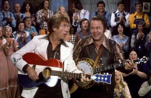 """Hee Haw""Buck Owens, Roy Clarkcirca 1973 © 1978 Marv Newton - Image 9742_0068"