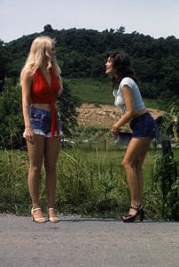 """Hee Haw""Misty Rowe, Barbi Bentoncirca 1973 © 1978 Marv Newton - Image 9742_0070"