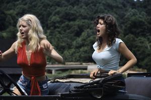 """Hee Haw""Misty Rowe, Barbi Benton circa 1973 © 1978 Marv Newton - Image 9742_0075"