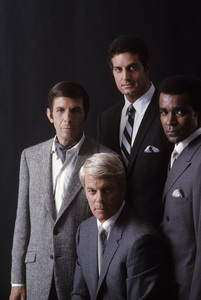 """Mission: Impossible""Leonard Nimoy, Peter Graves, Peter Lupus, Greg Morris1969 © 1978 Gene Trindl - Image 9747_0019"