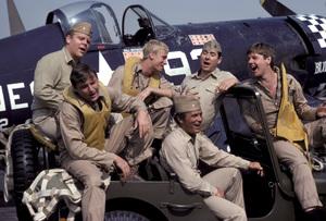 """Baa Baa Black Sheep""Dirk Blocker, James Whitmore Jr., W.K. Stratton, Robert Conrad, John Larroquette, Robert Ginty1976** H.L. - Image 9751_0016"