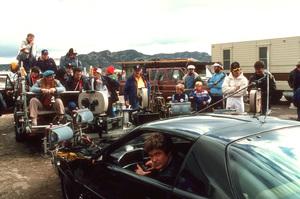 """Knight Rider""David Hasselhoff behind the scenes1983 NBC © 1983 Gene TrindlMPTV - Image 9752_0058"