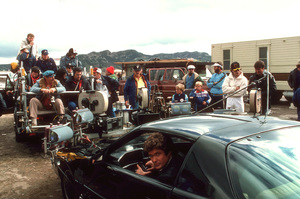 """Knight Rider""David Hasselhoff behind the scenes1983 NBC © 1983 Gene TrindlMPTV - Image 9752_0058"