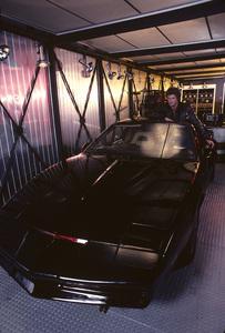 """Knight Rider""David Hasselhoff and KITT1982 © 1982 Gene Trindl - Image 9752_0064"