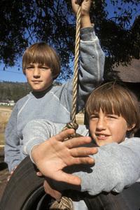 """The Other""Chris Udvarnoky, Martin Udvarnoky1972 20th Century FoxPhoto by Clayton Bud Gray - Image 9773_0019"