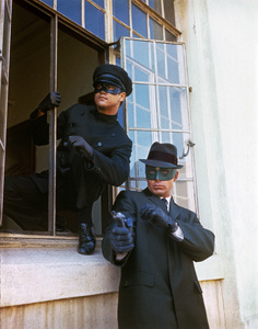 """""""The Green Hornet""""Bruce Lee, Van Williams1966Photo by Bud Gray - Image 9783_0006"""