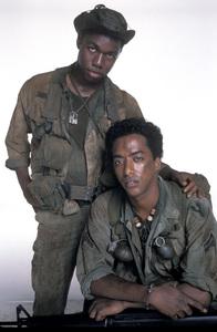 """""""Tour of Duty""""Stan Foster, Miguel A. Nunez Jr. 1987 © 1987 Mario Casilli - Image 9798_0001"""