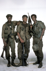 """Tour of Duty""Stan Foster, Terence Knox, Miguel A. Nunez Jr.1987 © 1987 Mario Casilli - Image 9798_0007"