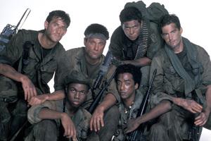 """Tour of Duty""Terence Knox, Ramon Franco, Tony Becker, Miguel A. Nunez Jr., Stan Foster1987 © 1987 Mario Casilli - Image 9798_0011"
