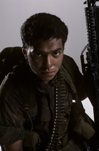 """Tour of Duty"" Ramon Franco1987 © 1987 Mario Casilli - Image 9798_0013"