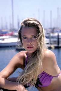 """Santa Barbara""Robin Wright1985Photo By Frank Carroll/**H.L. - Image 9802_0011"