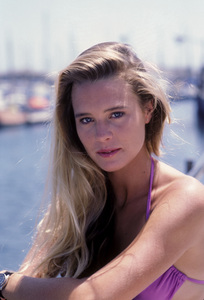 """Santa Barbara""Robin Wright1985Photo By Frank Carroll/**H.L. - Image 9802_0012"
