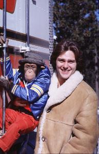 """ B.J. And The Bear""Greg Evigan and Bear © 1982 NBC**H.L. - Image 9825_0009"